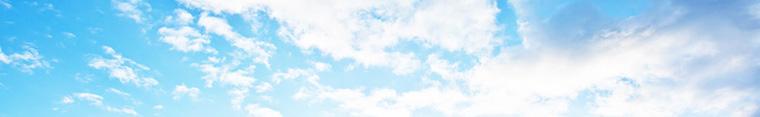 Illustration Himmel mit Wolken