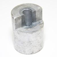 Gewinde auffüllen mit aluAgent Standard Gußaluminium